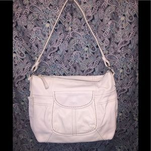 Relic Bags - Relic White Pebbled Leather Hobo